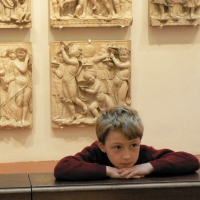 Nathan Louis at the Florence Cathedral Museum