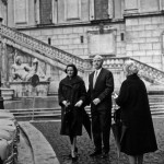 My parents' wedding, The Campidoglio, Rome, 1959