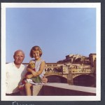 With my father in Florence, 1967